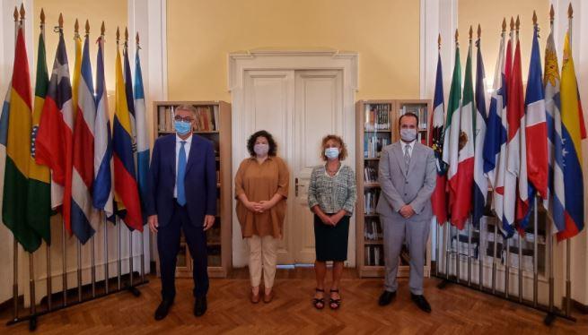 Ministra de Salud de Argentina, Carla Vizzotti, en Roma.