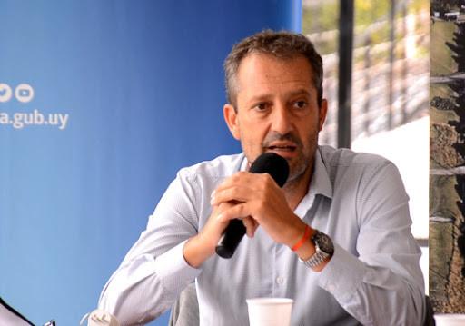 Andrés Castellano, presidente de la Asociación Turística de Colonia. Foto: ColoniaTv.uy
