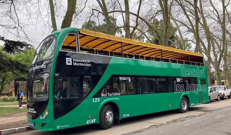 Bus Turístico de Montevideo.