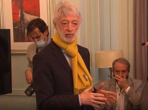 Juan Carlos López Mena, presidente de Buquebus. Foto: Captura Telenoche
