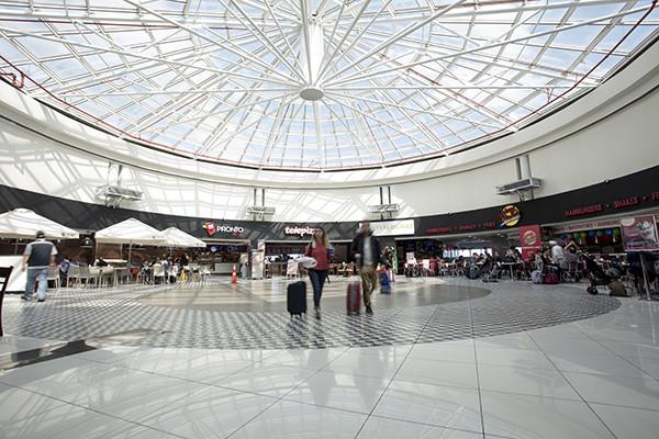 Aeropuerto Internacional Nuevo Pudahuel de Santiago de Chile.