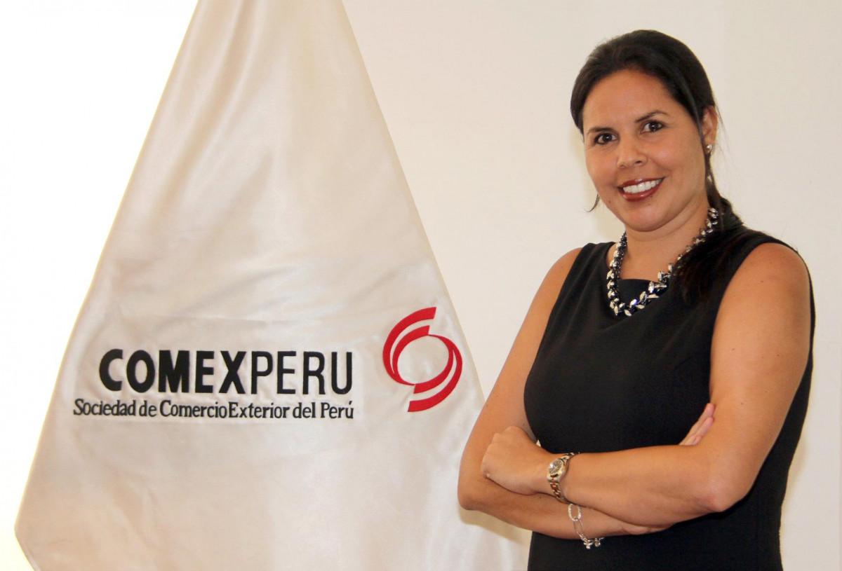 Jessica Luna, directora ejecutiva de ComexPerú.