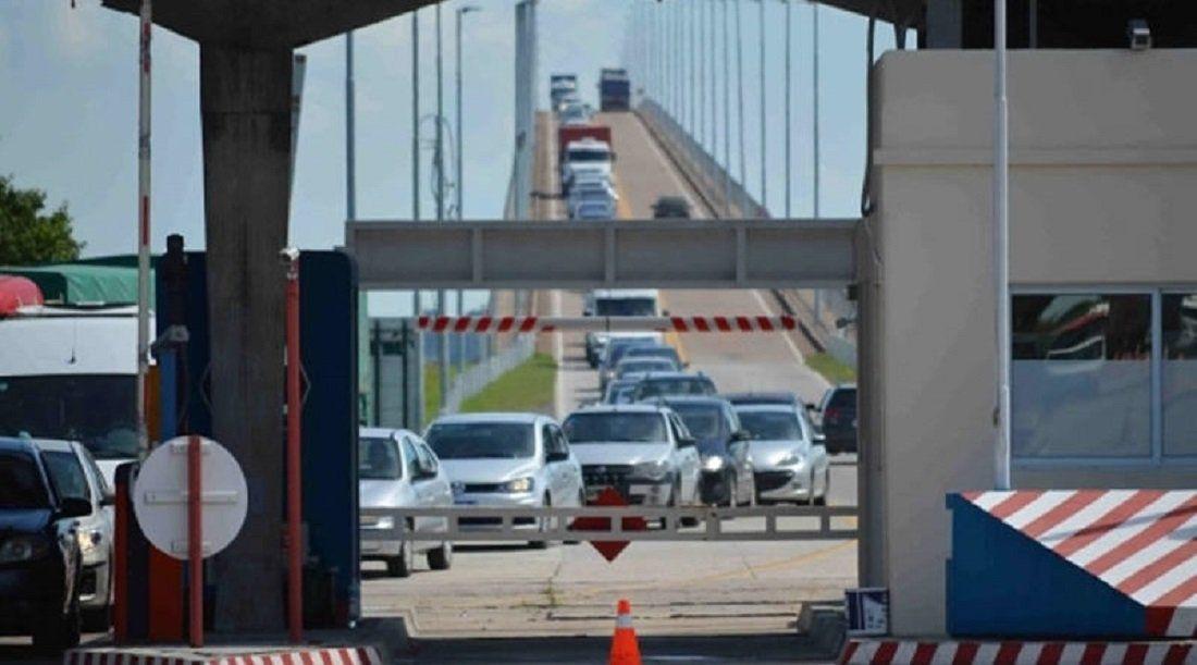 Puente Fray Bentos-Puerto Unzué, frontera entre Argentina y Uruguay. Foto: El Diario de Gualeguaychú