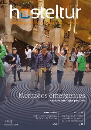 Revista Hosteltur: Mercados emergentes, objetivo estratégico para 2019