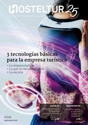 Revista Hosteltur: 3 Tecnologías básicas para la empresa turística