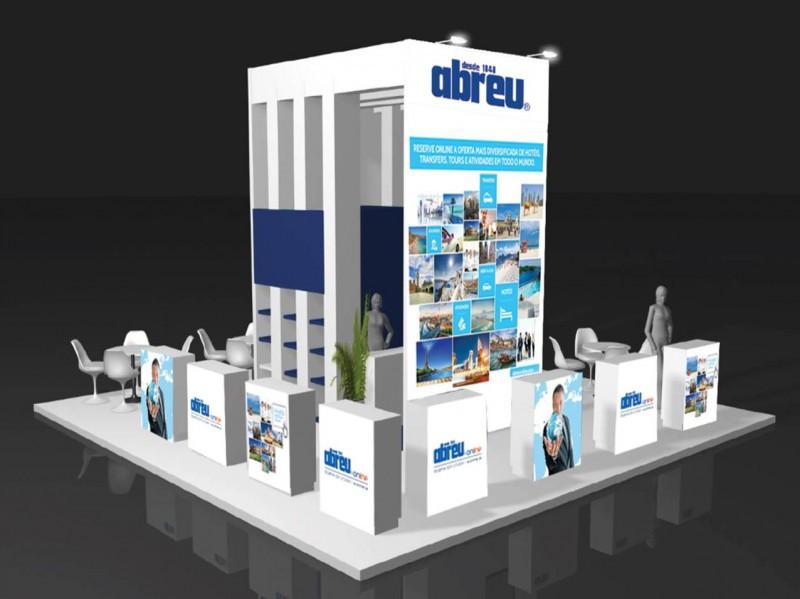 Stand de Abreu online en la Feria BTL de Portugal.