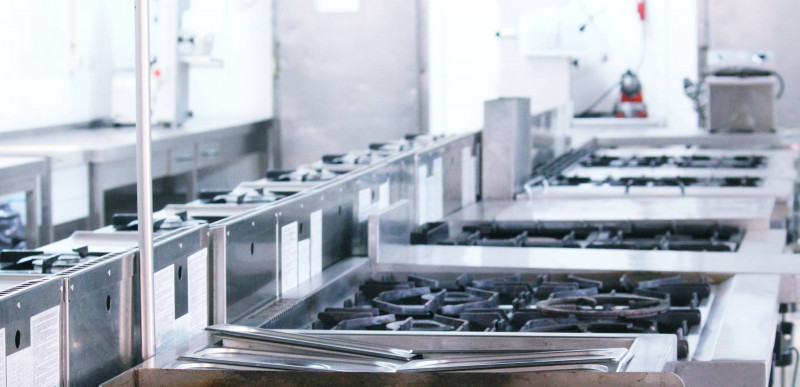 Instalaciones tecnicas de cocina Escuela de Hosteleria y Turismo Costa del Sol. Torremolinos. Malaga