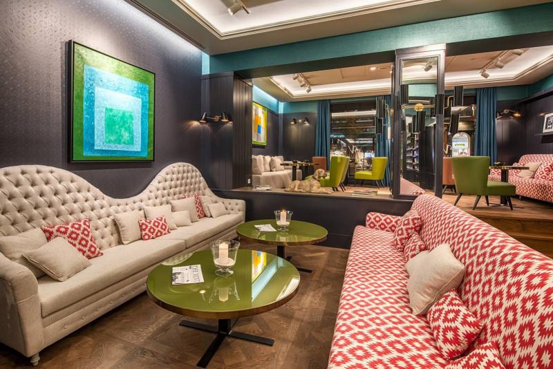 Las Molduras De Orac Decor Visten El Hotel Vincci The Mint