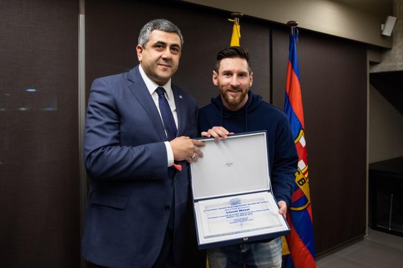 Lionel Messi fue nombrado Embajador de Turismo Responsable por la OMT