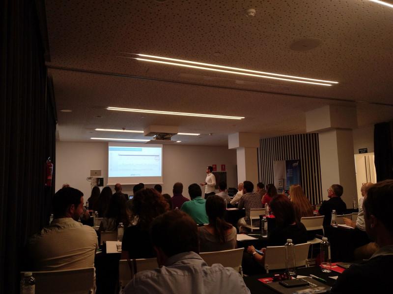 Captura de la presentación de Xavi López, director de operaciones de EISI SOFT.