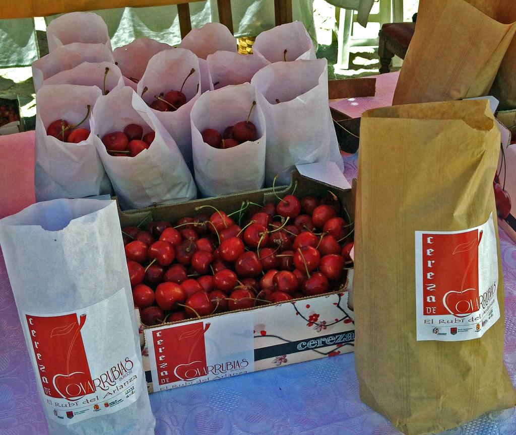 Covarrubias celebra la XXX Fiesta de la Cereza y el Mercado Medieval ...